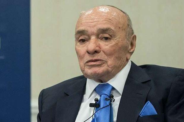 Son Dakika... ENKA Holding Fahri Başkanı Şarık Tara hayatını kaybetti