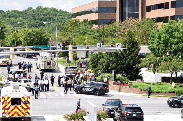 Son dakika... ABD'de gazete binasına silahlı saldırı! Ölüler var