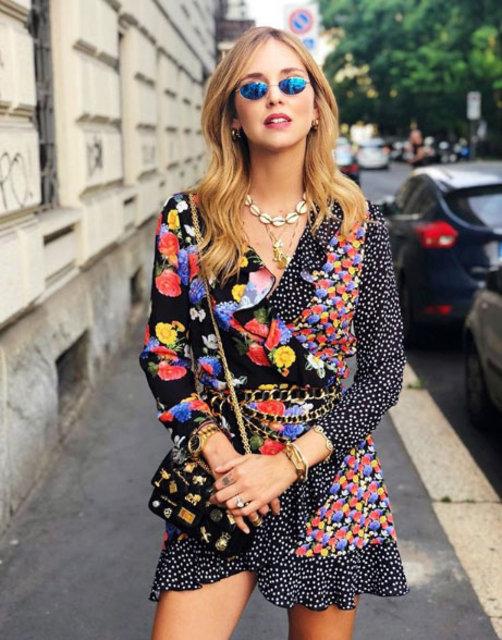 Chiara Ferragni'nin sokak stili!