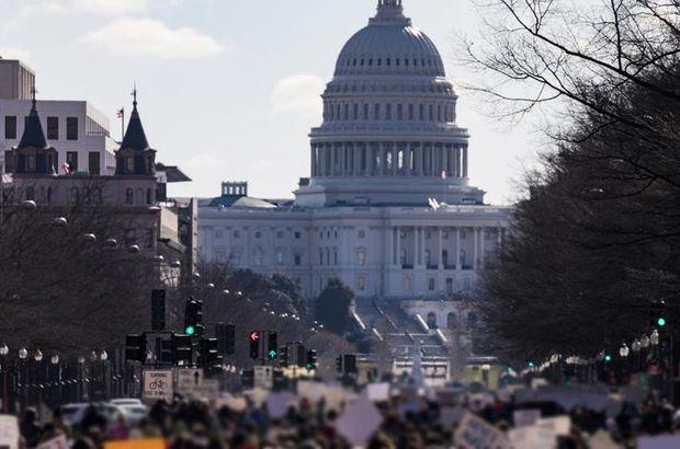 ABD Kongresinde Trump'ın göçmen politikasına protesto