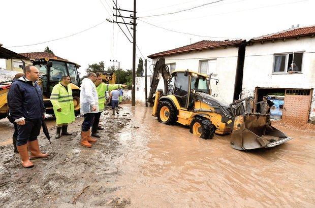 Çukurköy'de su baskını sorununa kesin çözüm