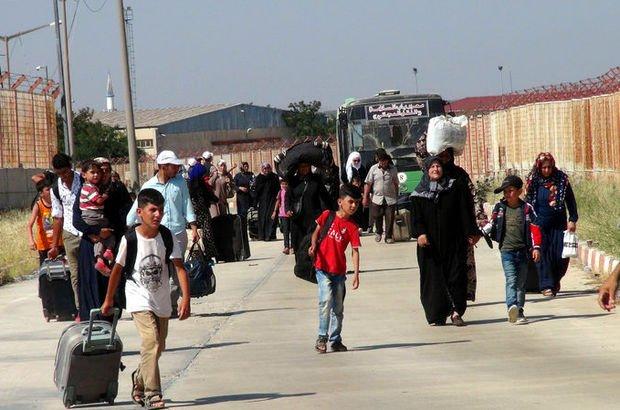 Son dakika... Bayramda gitmişlerdi! 7 bin Suriyeli Türkiye'ye döndü