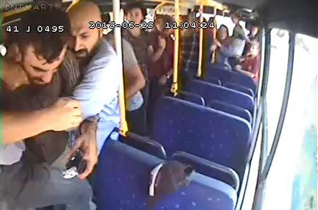 Son dakika! Otobüste herkesin gözü önünde korkunç ölüm!