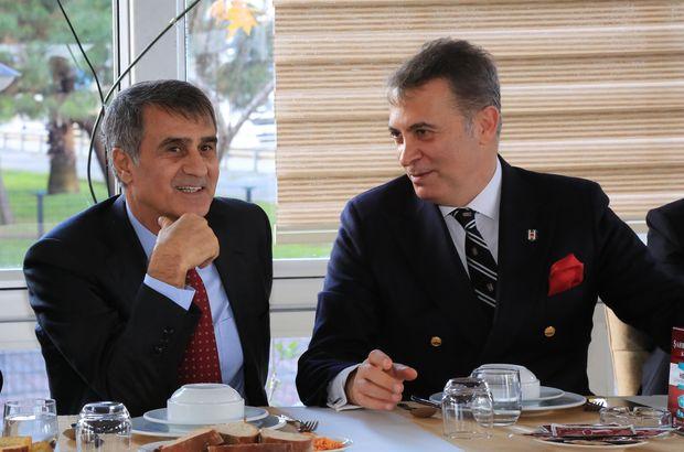 Beşiktaş Başkanı Fikret Orman, Şenol Güneş'e müjdeyi verdi!