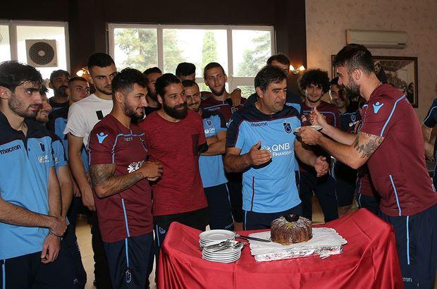 Trabzonspor, Ünal Karaman'ın doğum gününü kutladı!