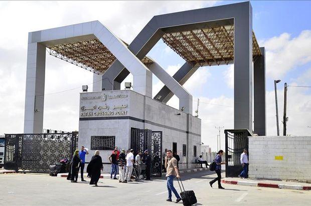 Refah Sınır Kapısı üç günlüğüne kapandı
