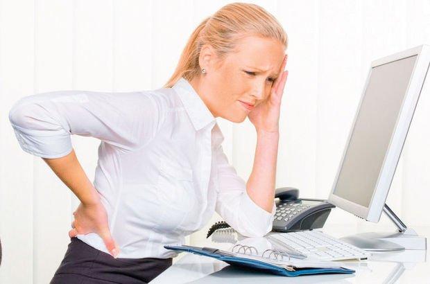 Büro çalışanlarında kas ağrıları kabus olabilir
