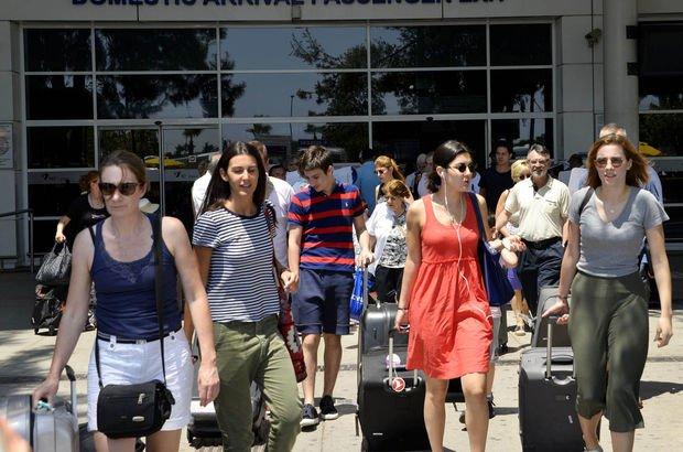 Turizmde hedef 2018'de cari açığa yüzde 40 katkı