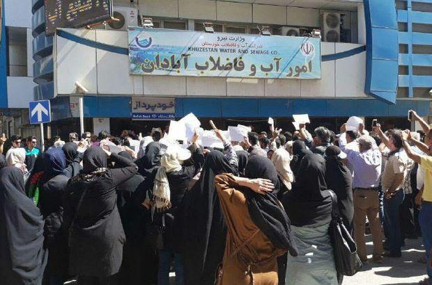 İran şimdi de susuzluktan sokakta!