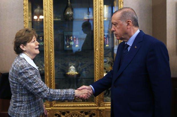 Cumhurbaşkanı Erdoğan'ın ABD'li Senatörleri kabulü sona erdi!