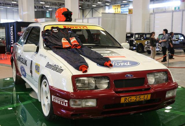 Klasik otomobilciler TÜYAP festivalinde buluştu