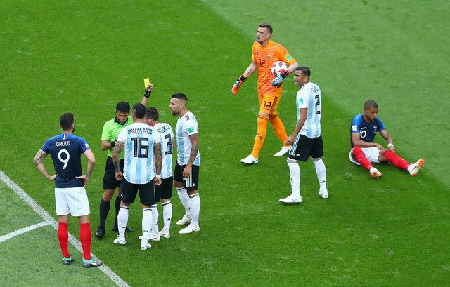 Mbappe'nin Fransa Arjantin maçındaki driplingi sosyal medyayı salladı! Ne yaptın Mbappe!