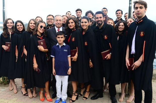 Mustafa Cengiz mezuniyet törenine katıldı