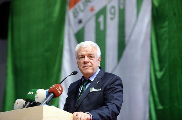 Bursaspor Başkanı Ali Ay: Ben seçilmeseydim 2 ay sonra kongre olurdu