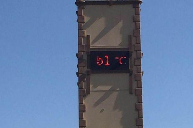 Termometreler 51 dereceyi gösterince...