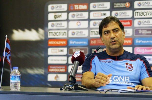 Trabzonspor Teknik Direktörü Ünal Karaman'dan transfer açıklaması