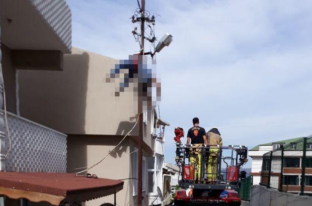 Kaçak elektrik hayatına mal oldu Kaçak elektrik çekmeye çalıştığı sırada hayatını kaybetti