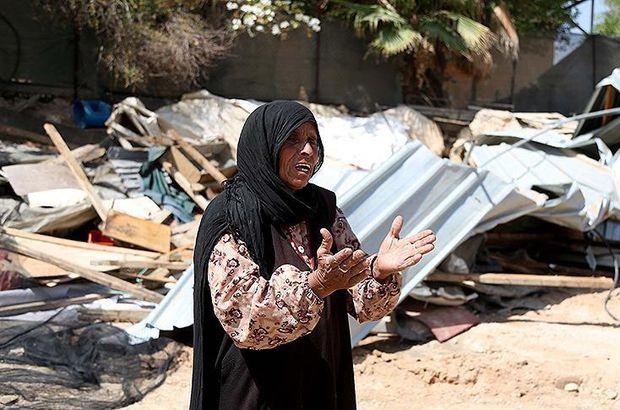 Filistinlilerden İsrail'in yıkım kararına karşı gösteri çağrısı