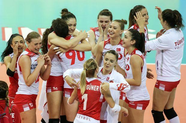 Son dakika: A Milli Kadın Voleybol Takımı finalde ( Filenin Sultanları'ndan büyük zafer)