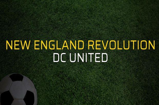 New England Revolution - DC United maçı istatistikleri