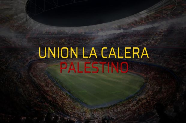Union La Calera - Palestino maçı istatistikleri