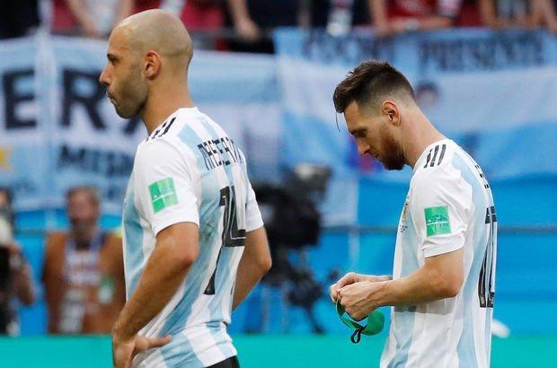 Mascherano, Fransa Arjantin maçı sonrası milli takımı bıraktı!