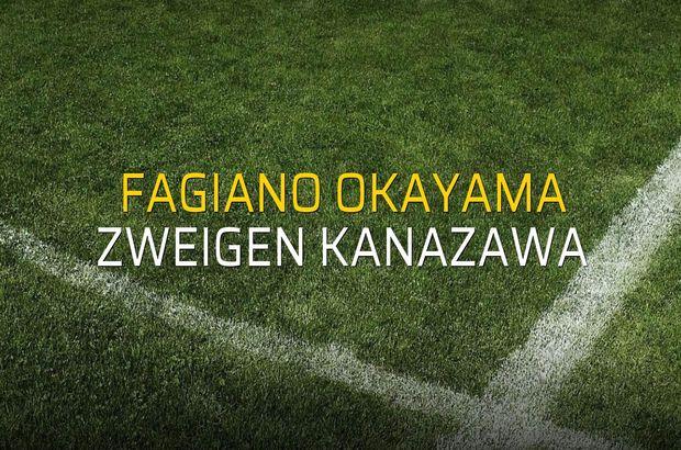 Fagiano Okayama - Zweigen Kanazawa maç önü