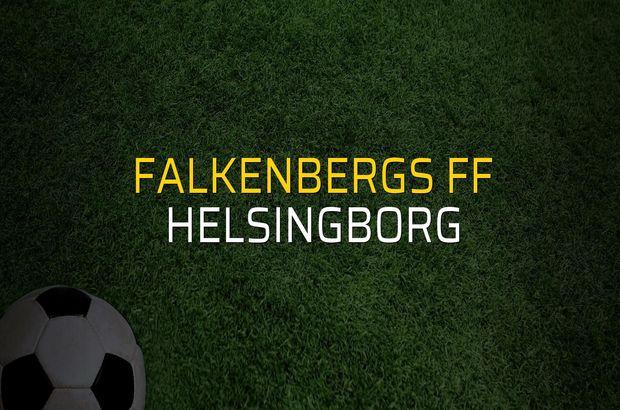 Falkenbergs FF - Helsingborg maçı rakamları