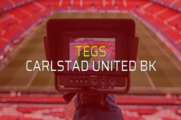 Tegs - Carlstad United BK düellosu