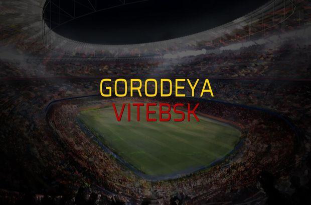 Gorodeya - Vitebsk rakamlar