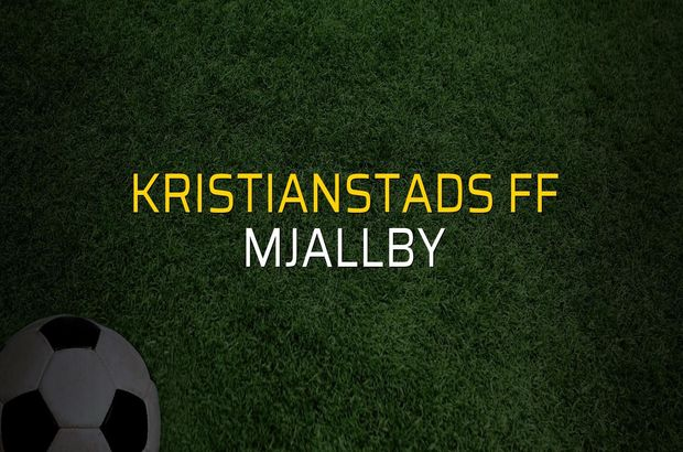 Kristianstads FF - Mjallby sahaya çıkıyor