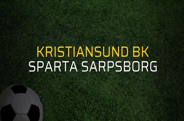 Kristiansund BK - Sparta Sarpsborg maçı heyecanı