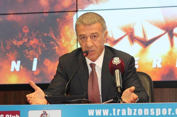 Trabzonspor Başkanı Ahmet Ağaoğlu ve Ünal Karaman'dan transfer açıklaması