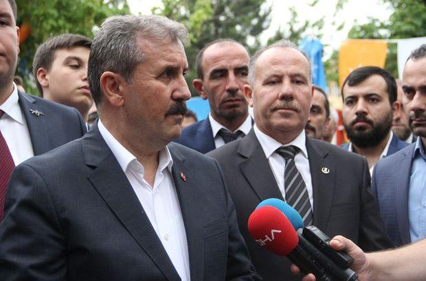 Son dakika: BBP lideri Mustafa Destici'den idam çıkışı!