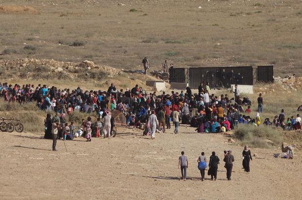 Dera'da göçe zorlananların sayısı 200 bine ulaştı!