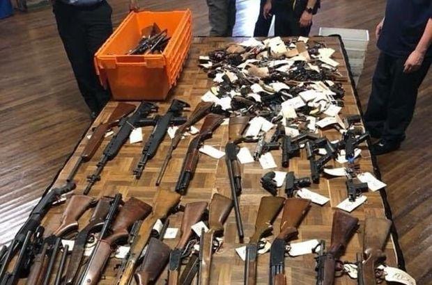 ABD polisi sokaklardan silah topluyor