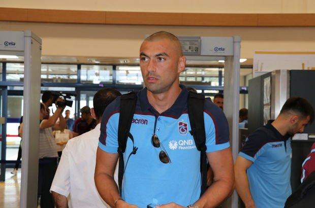 Trabzonspor Slovenya'ya gitti