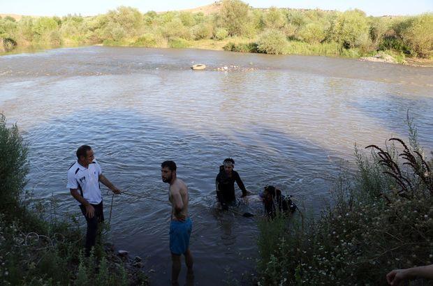 Dicle Nehrinde 14 yaşındaki çocuk boğuldu