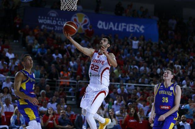 Türkiye: 77 - İsveç: 52 | MAÇ SONUCU (Basketbol Milli Takımı)