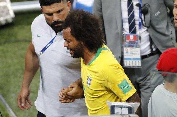Marcelo'dan Brezilya'ya kötü haber!