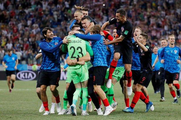 Son dakika! Hırvatistan: 4 - Danimarka: 3 | MAÇ SONUCU