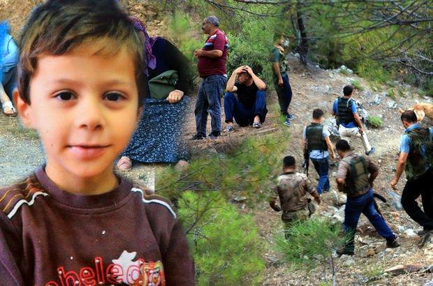 Hatay'da kaybolan 6 yaşındaki Ufuk Tatar için arama çalışmaları başladı