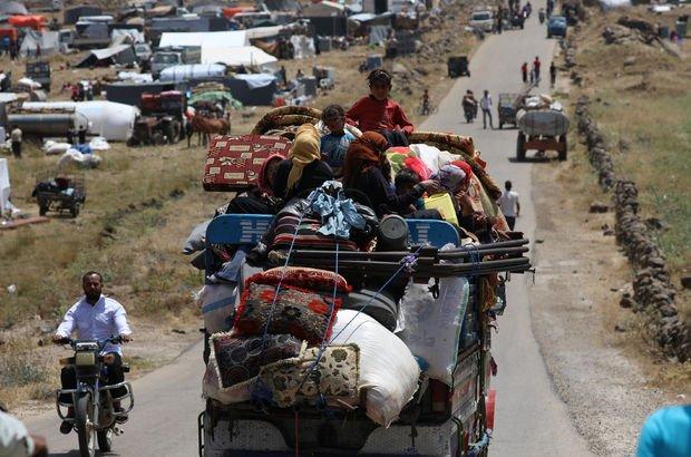 Suriye'den kaçanların sayısı artmaya devam ediyor!