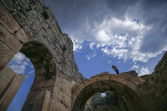 """Mitolojideki """"nazar boncuğu"""" Medusa ziyaretçilerini bekliyor"""