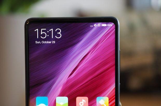 Xiaomi Mi Mix 3te ön kamera nerede 16