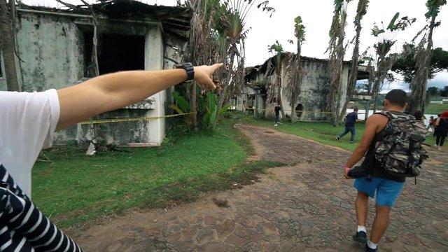Pablo Escobar'ın lüks evinde artık paintball oynanıyor!