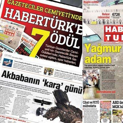 habertürk gazetesi 10 yılda onlarca ödüle layık görüldü