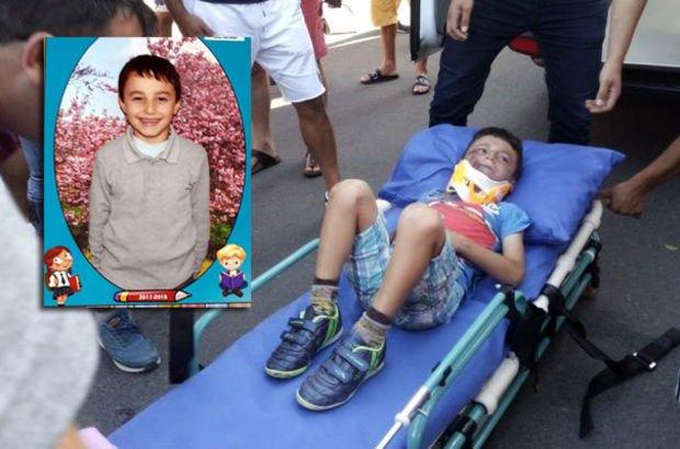 6 yaşındaki Ömer Faruk iç kanama sonucu hayatını kaybetti