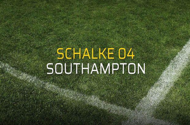Schalke 04 - Southampton maçı ne zaman?