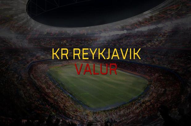 KR Reykjavik - Valur maçı istatistikleri